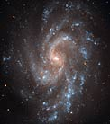 Spiral key to Universe's expansion