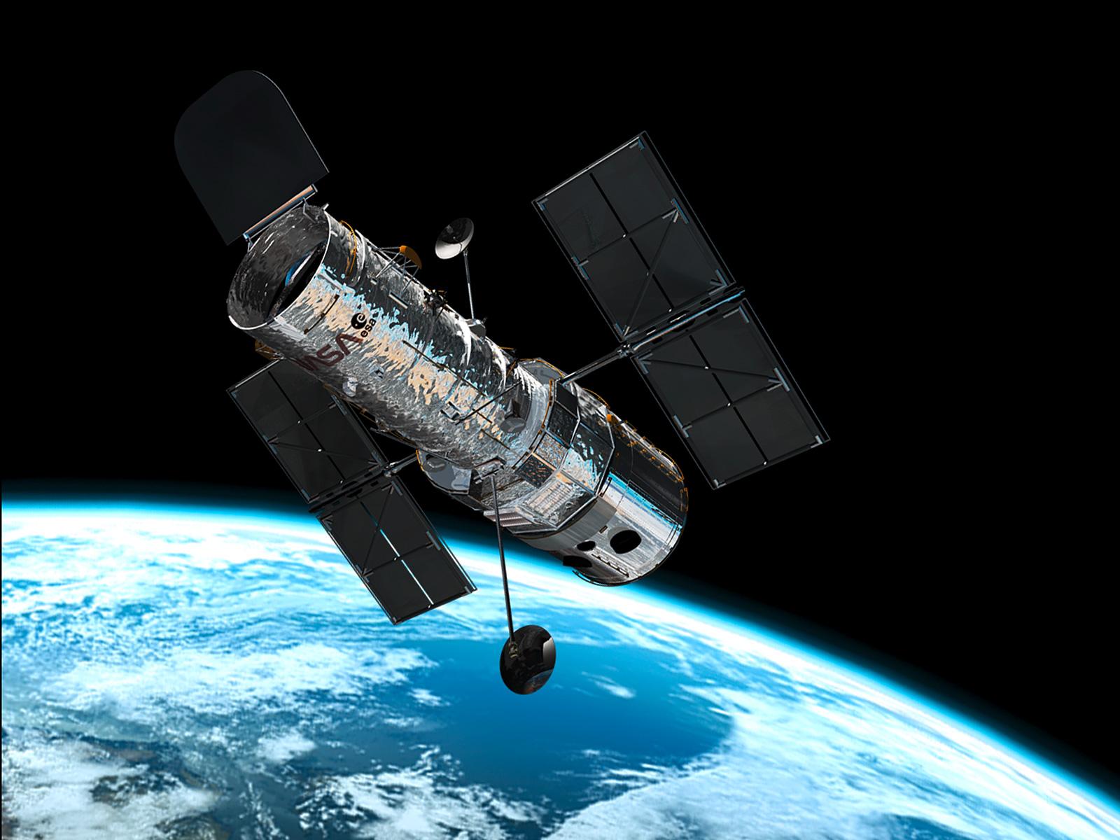 (FAQ): Imagens inéditas mostram que as novidades do PMB estão quase prontas! Hubble_in_orbit1