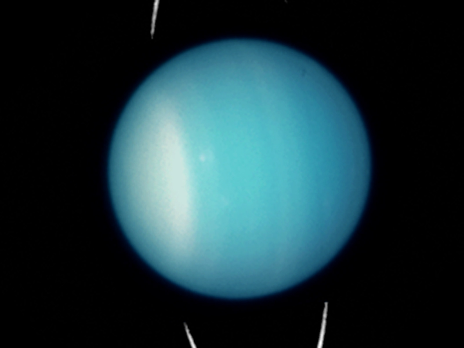 Uranus 2003 Unannotated Esa Hubble