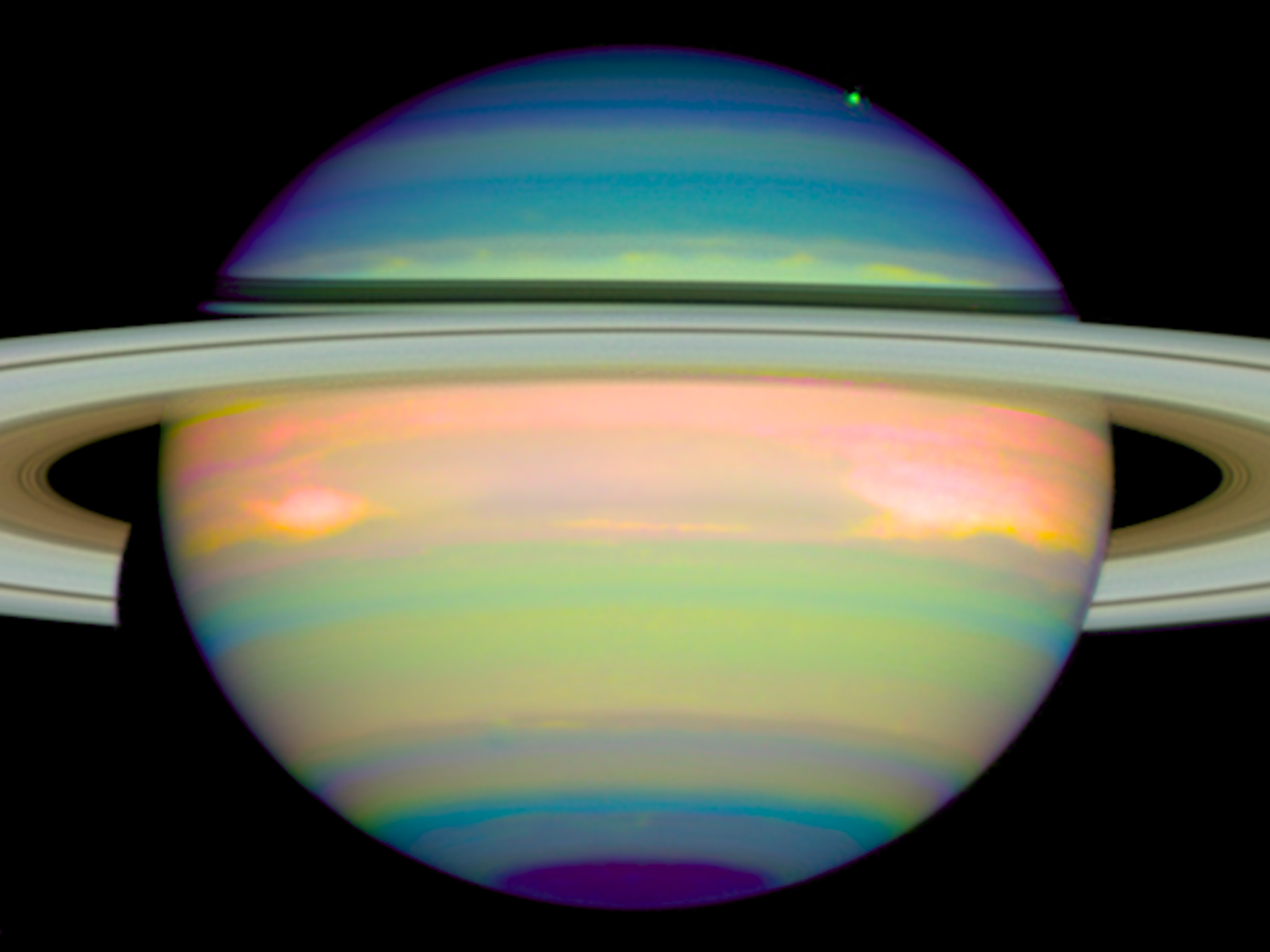 Saturn Hubble Pics About Space