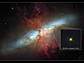 Hubble views new supernova in Messier 82