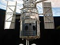 SM4: Hubble Space Telescope just before astronauts released it
