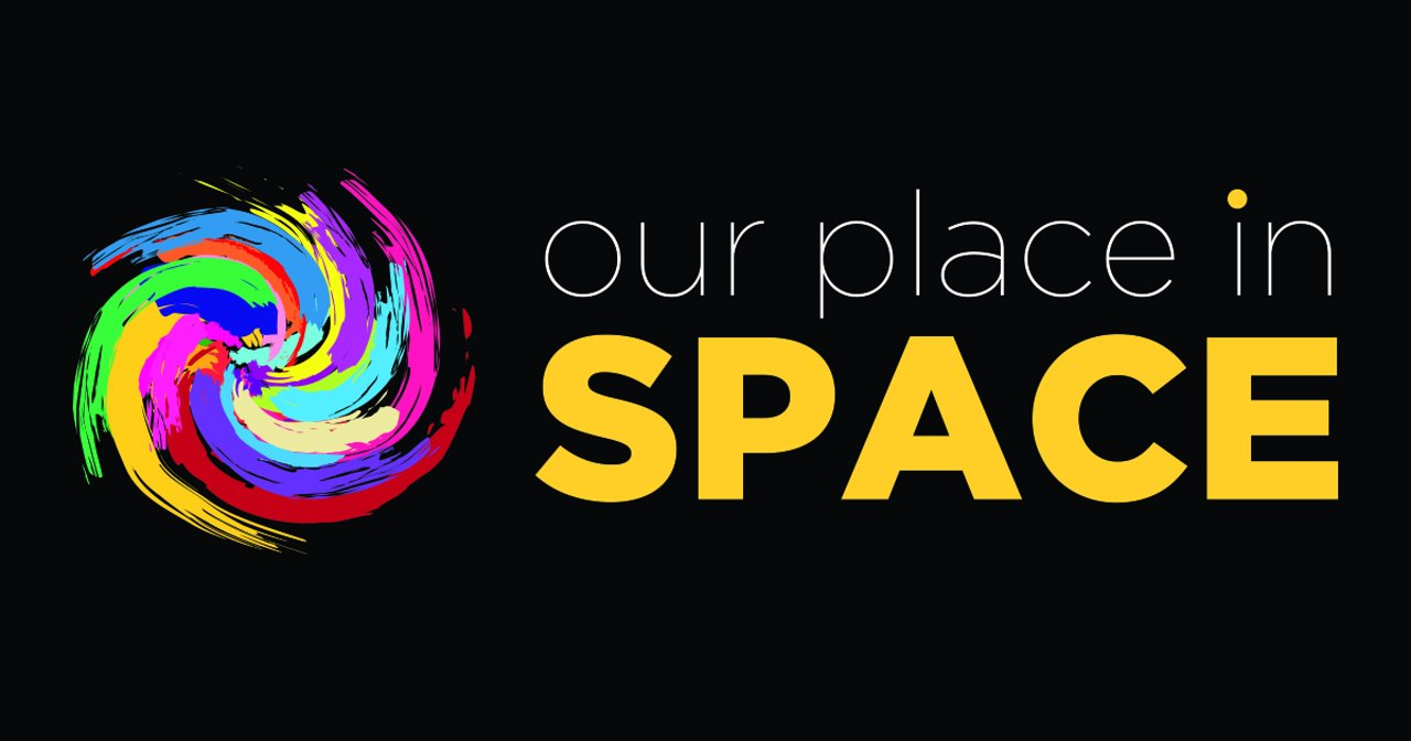 Our Place In Space Logo Fb Shared Esahubble