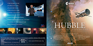 Hubble - 15 years of Discovery (ESA Cardboard PAL DVD v.3) (SOLD OUT)