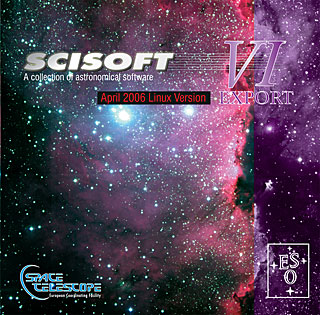 Scisoft VI Linux Astronomical Software Collection DVD