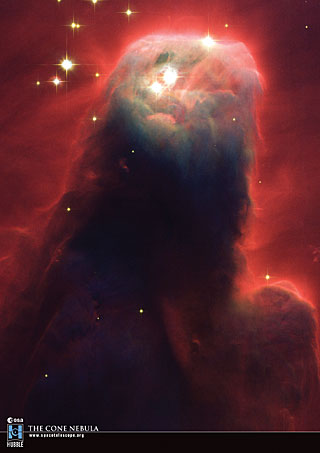 Postcard10: The Cone Nebula