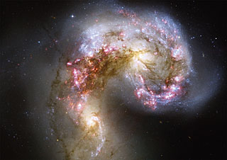 Postcard15: The Antennae galaxies