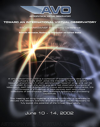 Astrophysical Virtual Observatory