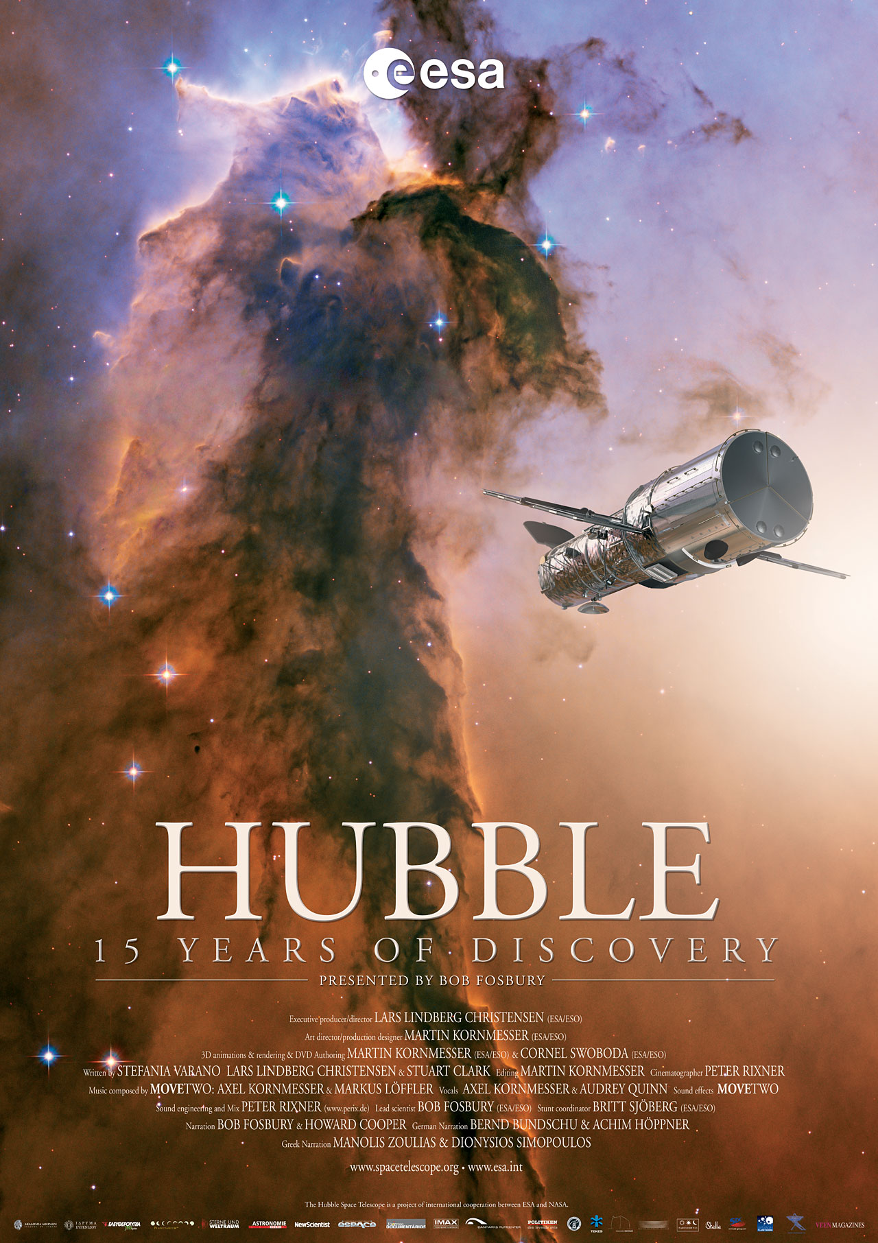 Hubble - 15 Years of Discovery movie poster | ESA/Hubble