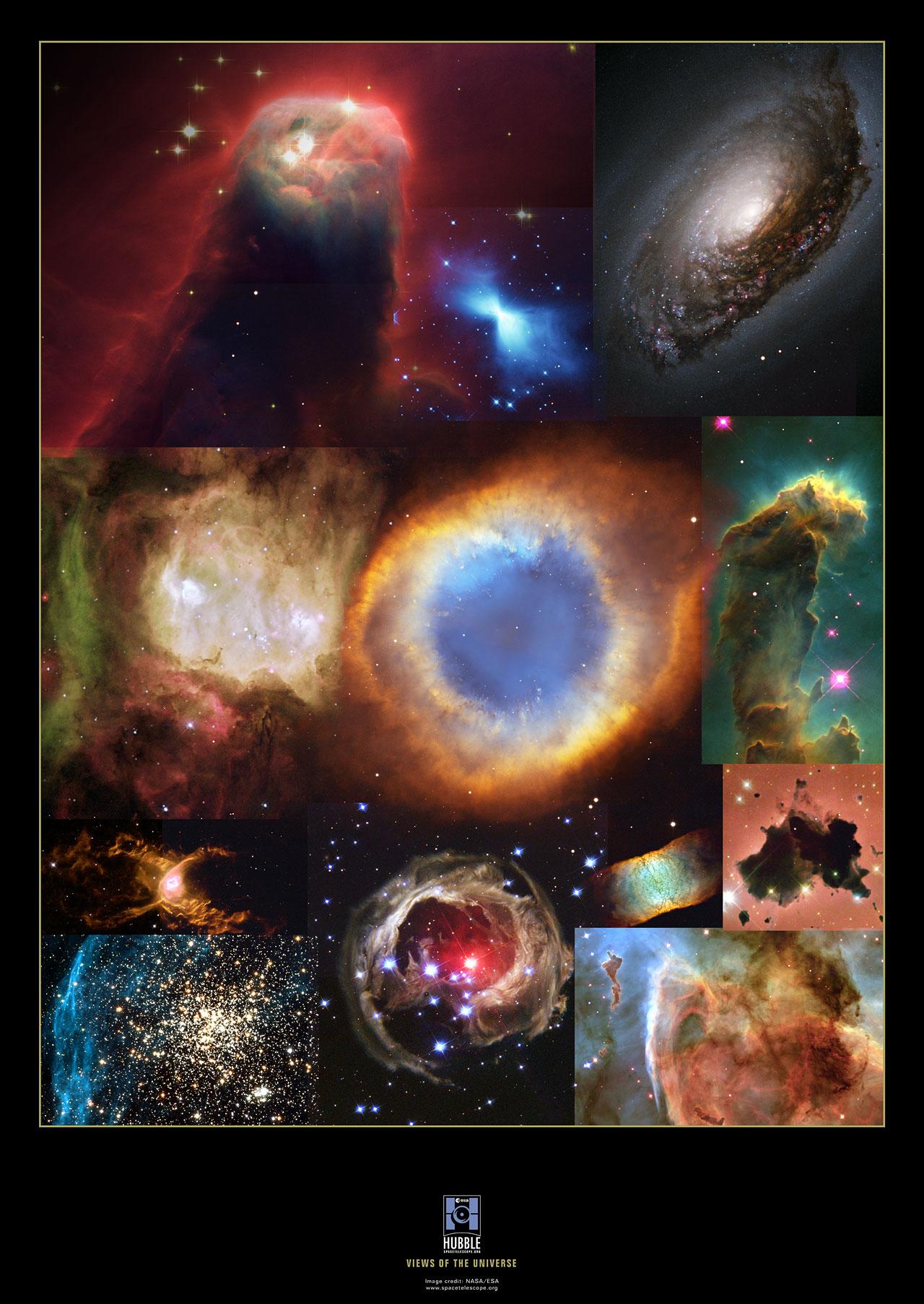 Hubble Collage | ESA/Hubble