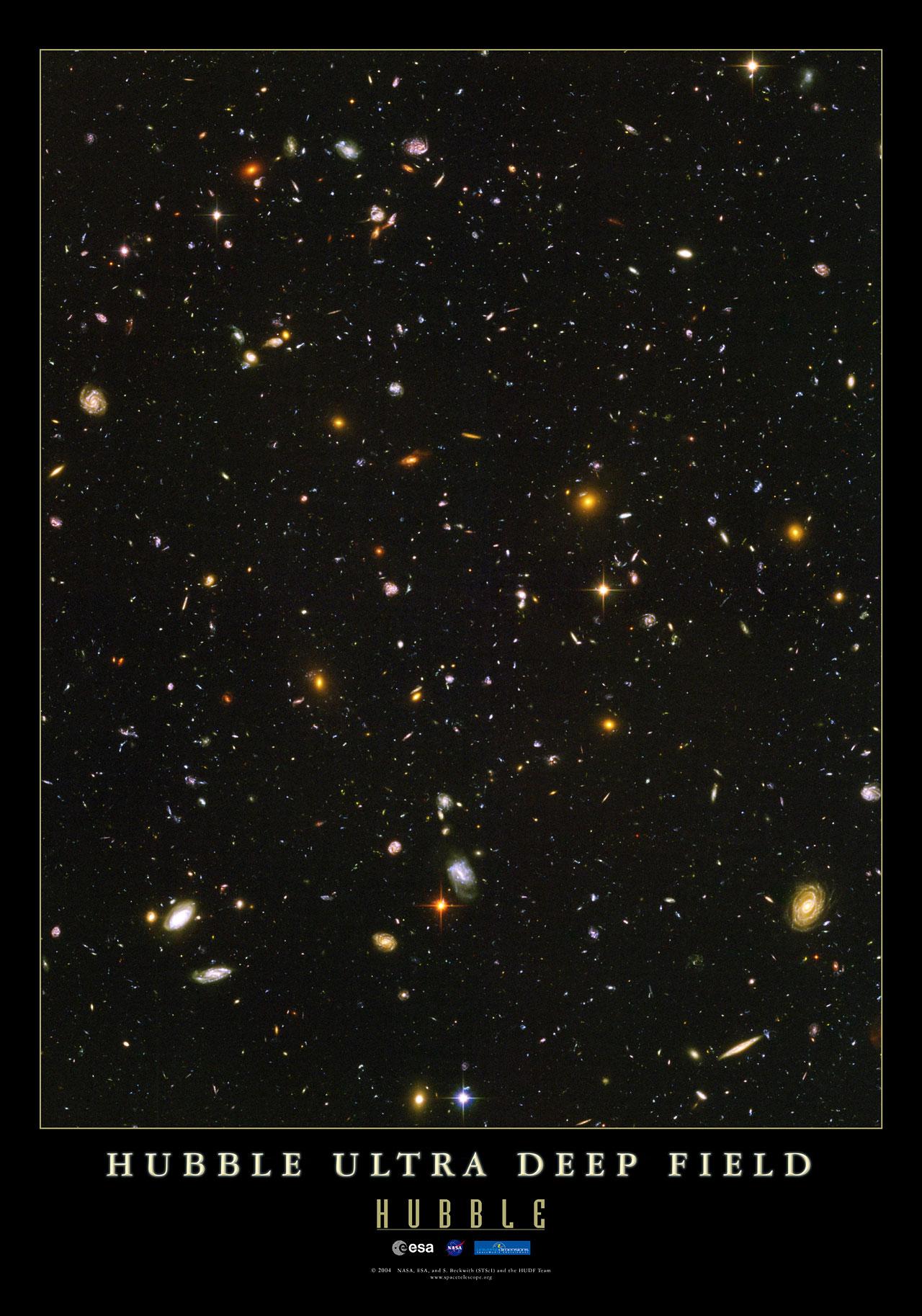 The Hubble Ultra Deep Field | ESA/Hubble