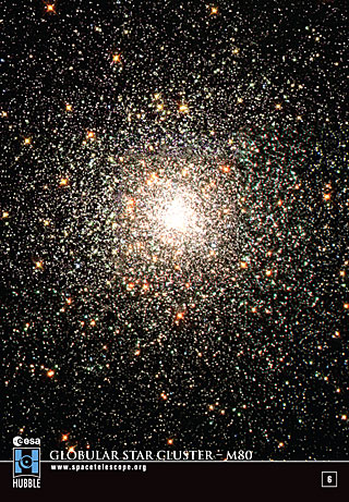 Sticker 6: Globular Star Cluster - M80 (SOLD OUT)