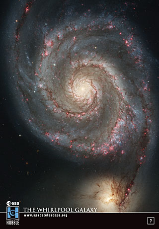 Sticker 7: The Whirlpool Galaxy (SOLD OUT)