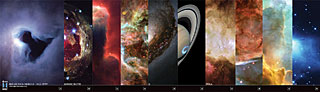 Set of 10 Hubble stickers (11-20) (SOLD OUT)