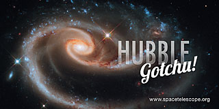 Sticker: Hubble gotchu!