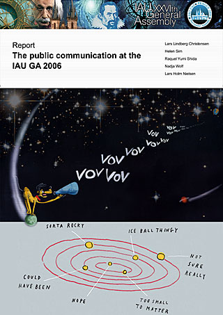 The Public Communication at the IAU GA 2006