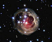 The evolution of the light echo around V838 Monocerotis