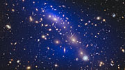 Fade through of galaxy cluster images