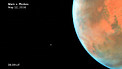 Time-lapse video of Phobos in orbit around Mars (annotated and smoothed)