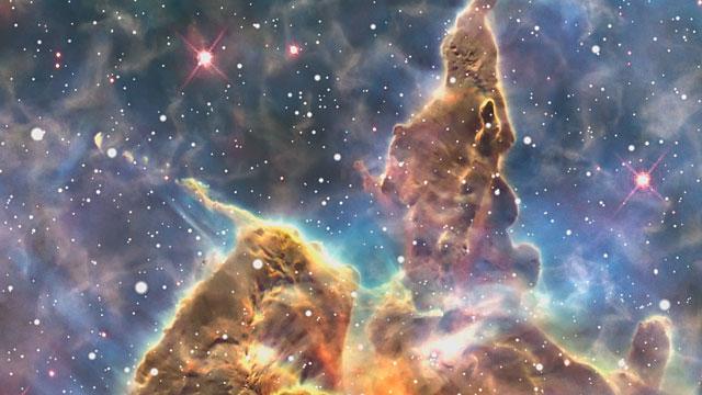 Hubble Telescope Wallpaper Mystic Mountain - Pics about space